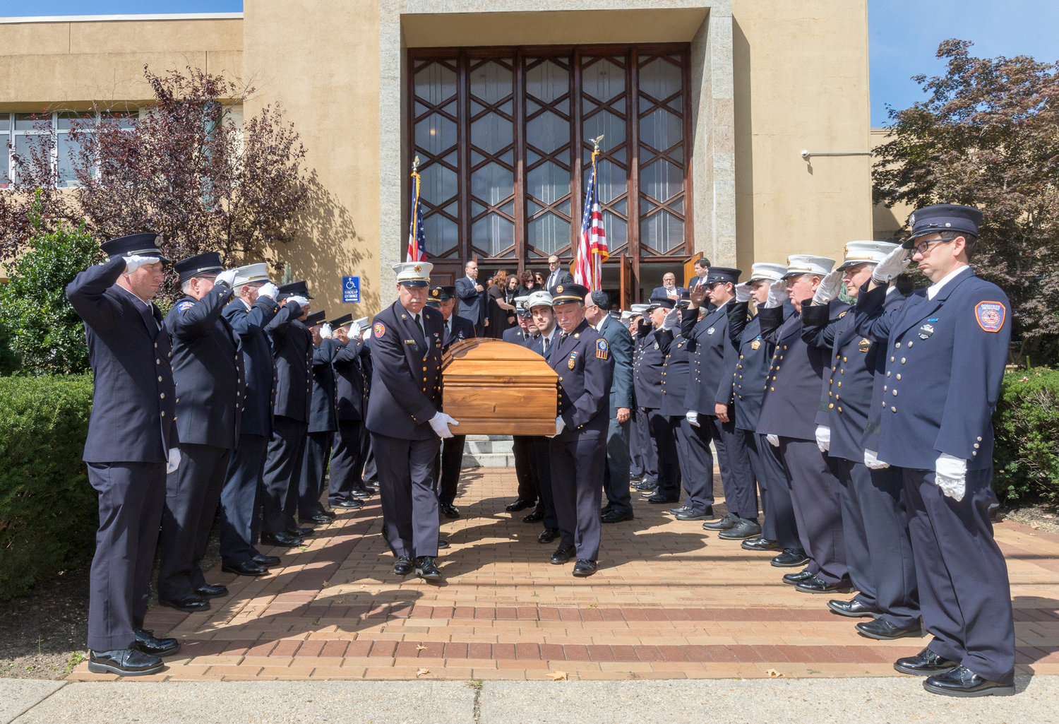 Ed Oppenheimer was laid to rest on Friday, Sept. 20.