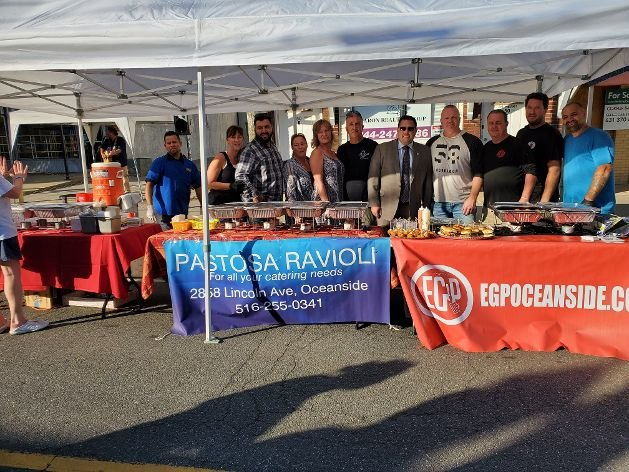 "Several local businesses partook in the ""A Taste of East Rockaway"" event in support of establishments affected by a fire on Main Street in August."
