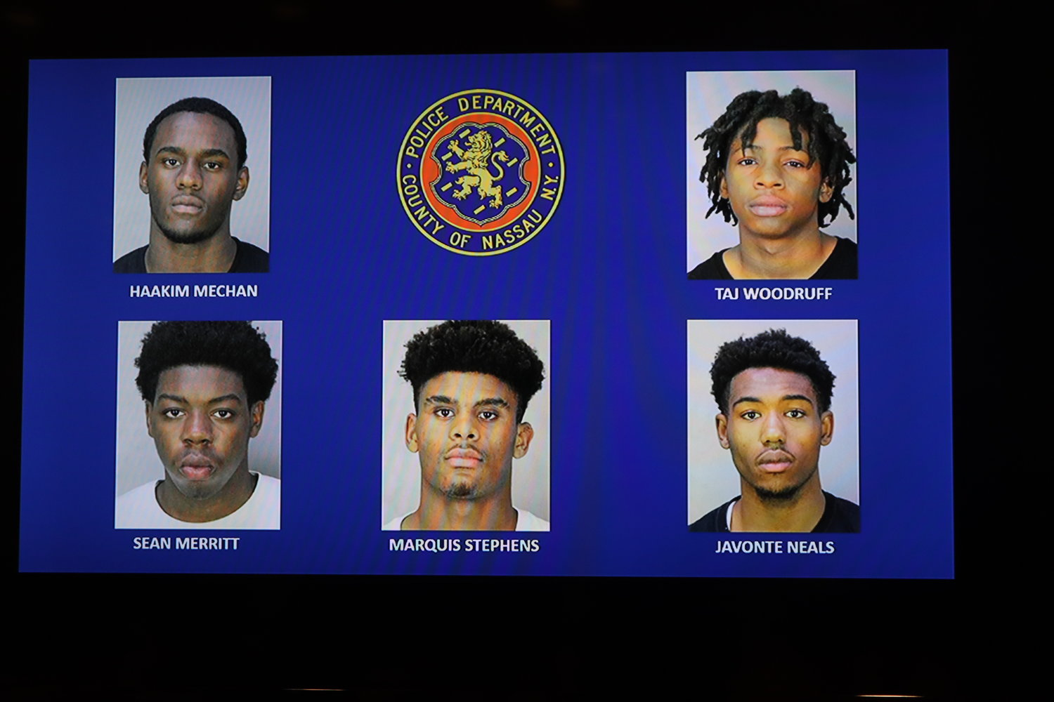 Five Long Beach suspects have been charged with gang assault in connection with the murder of 16-year-old Khaseen Morris.