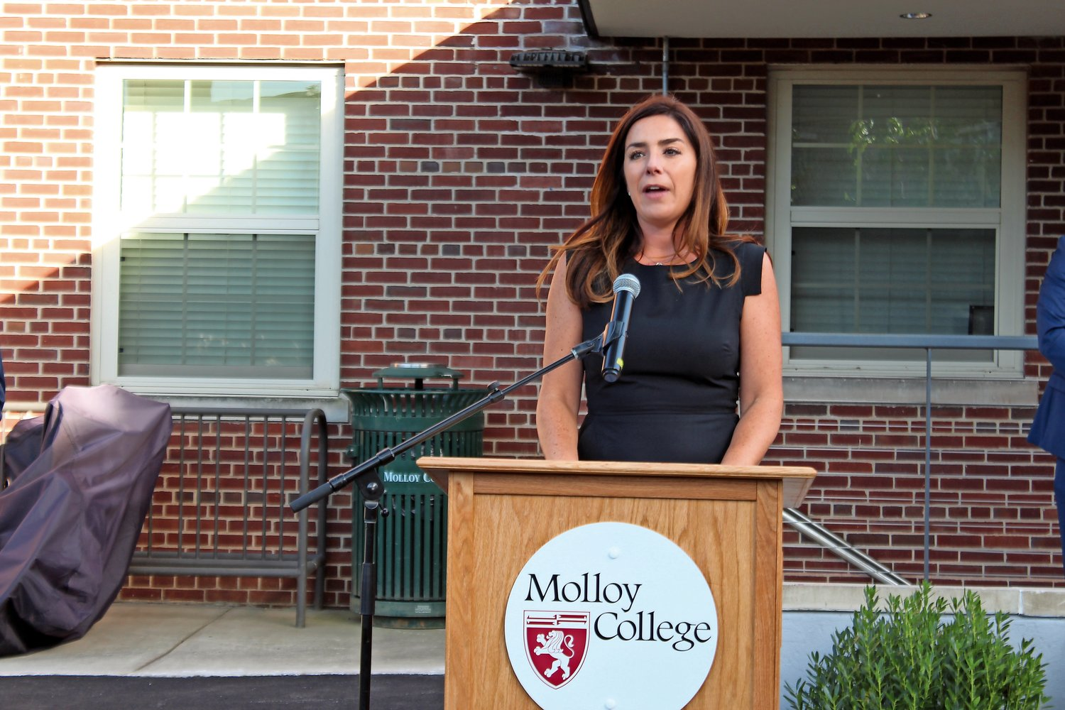 Gillian Corradino gave a moving tribute to her late father, Michael McGovern.