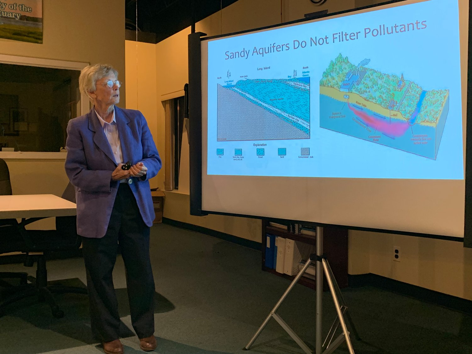 Dr. Sarah Meyland, director of the New York Institute of Technology's Center for Water Resources Management, recently spoke to Friends of the Bay about the dangers of new contaminants in Long Island's groundwater.