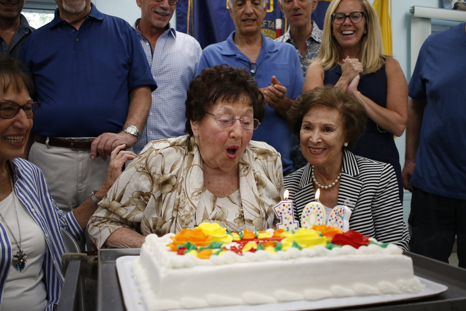 Baldwinite Ida Genna Scaduto turned 106 on Sept. 25. Her family and friends threw her a party at the Baldwin Senior Center on Sept. 24.