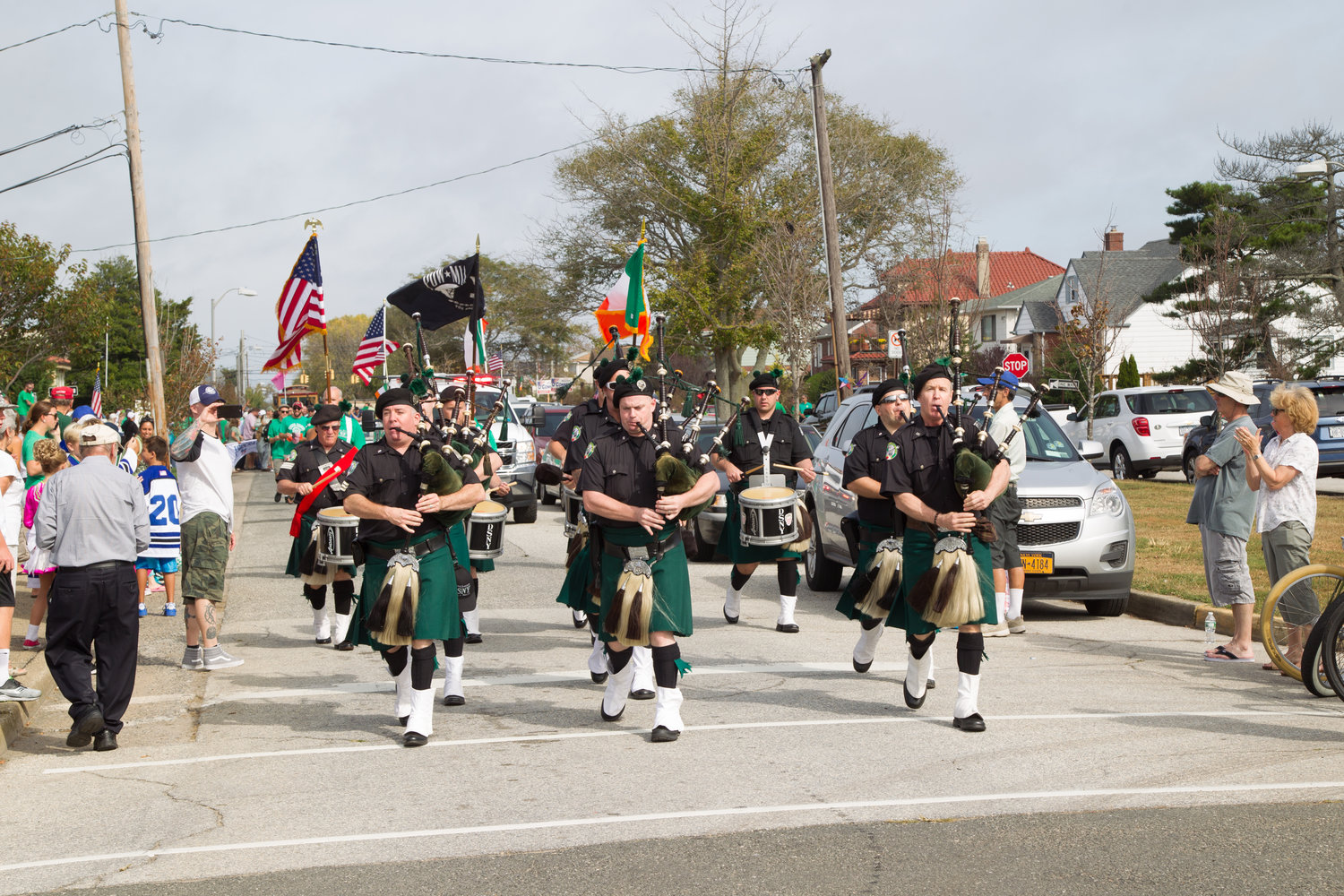 The annual Irish Day Parade has been canceled because of the coronavirus pandemic.