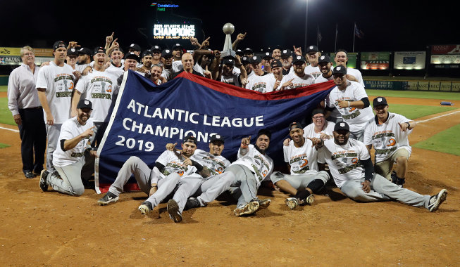 The Ducks defeated Sugar Land in the best-of-five championship series.