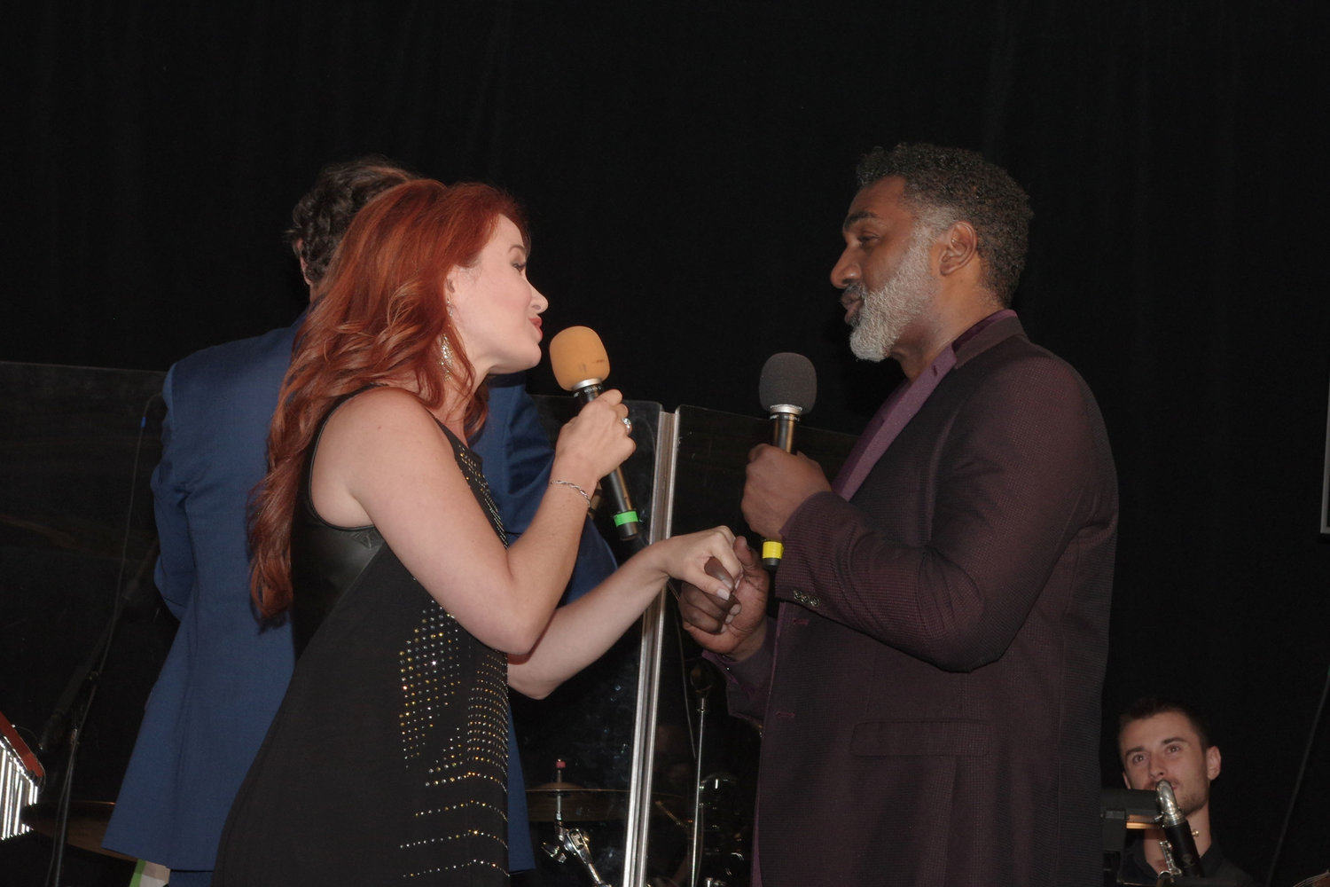 Sierra Boggess and Norm Lewis performed at the event.