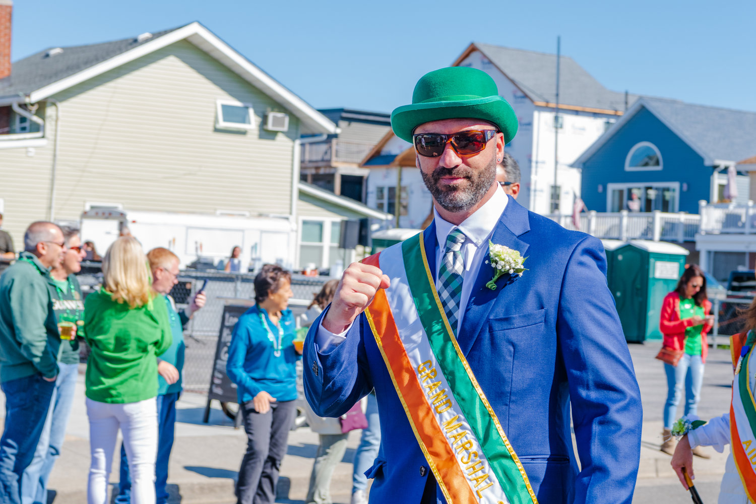 "Retired professional boxer ""Irish"" Seanie Monaghan led the 30th annual Saint Brendan the Navigator Irish Heritage Day Parade as its grand marshal on Oct. 5."