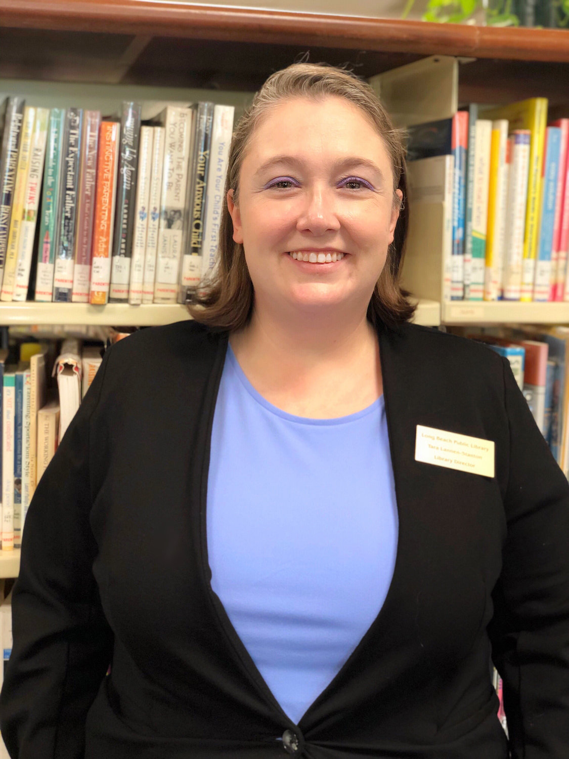 Lannen-Stanton took over as Long Beach Library Director on August 1.