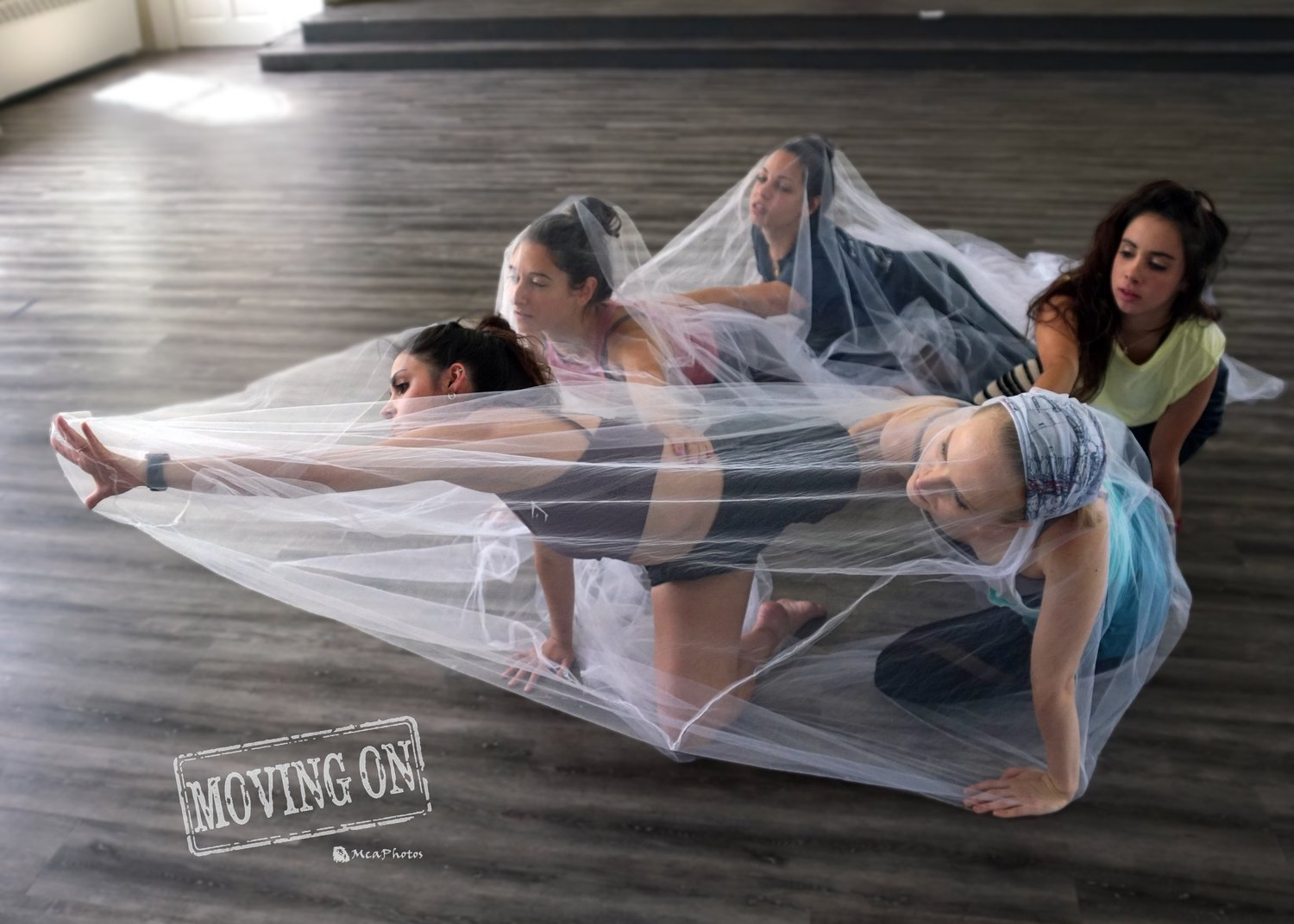 Dancers in the web sequence.