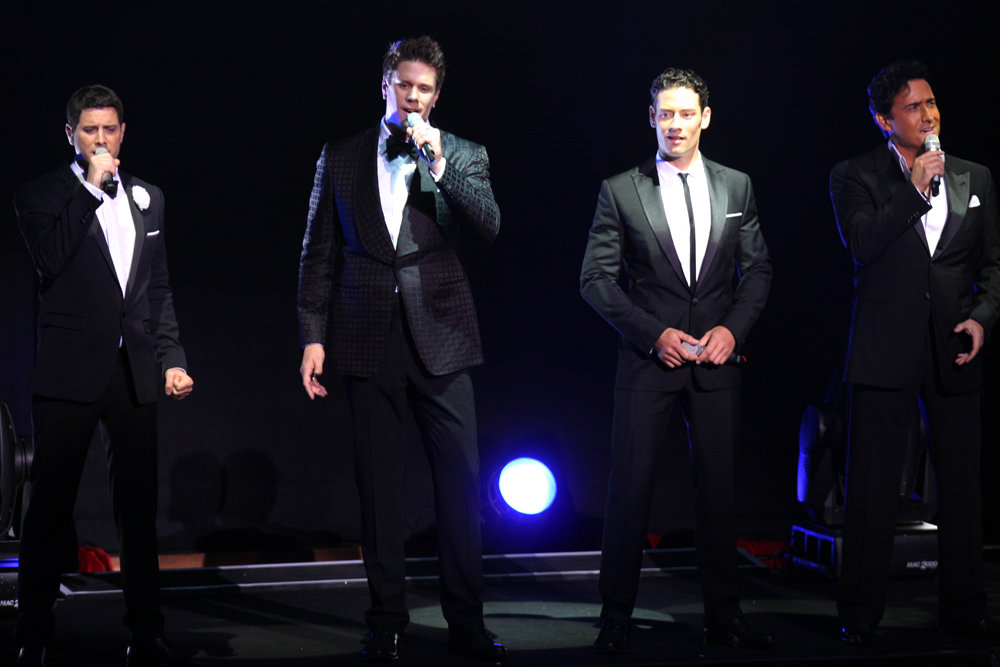 The Four Italian Tenors.