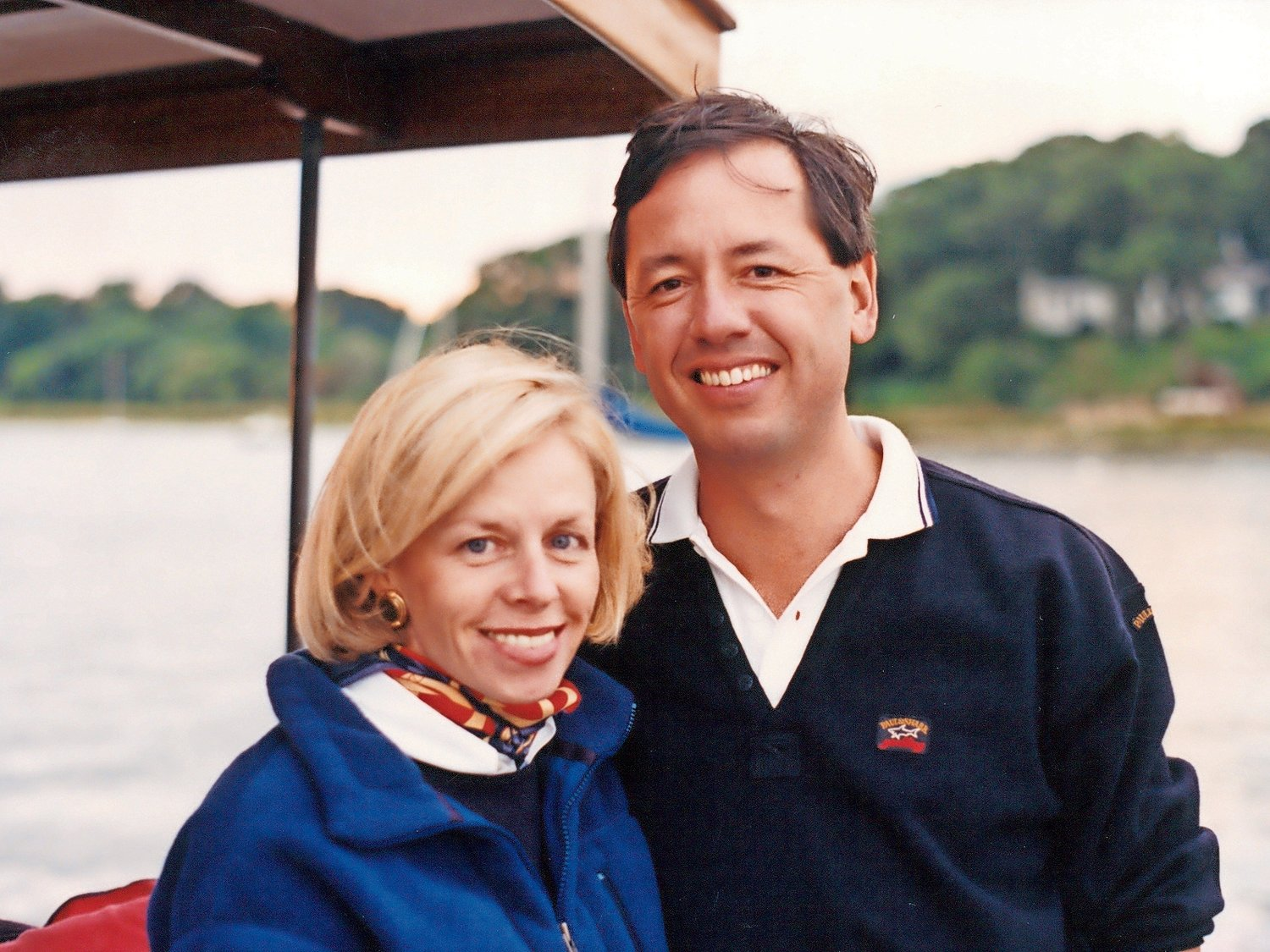 Barbara and Jim Hoover, circa 1996, enjoyed all that life had to offer.