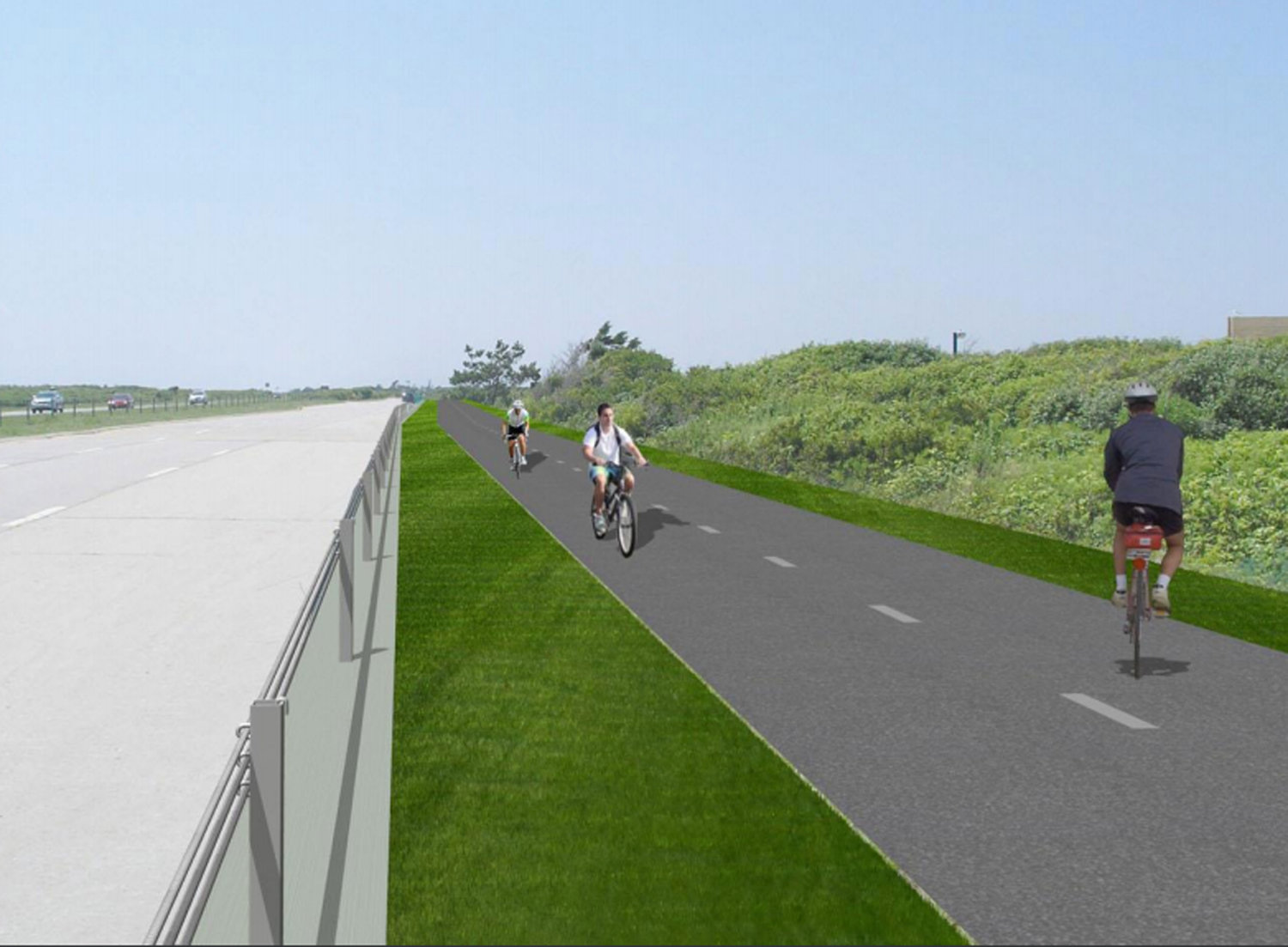 The Ocean Parkway Coastal Greenway Shared Use Path was approved for a 10-mile, $16.2 million extension to Captree State Park, which is expected to be completed in the summer of 2021.