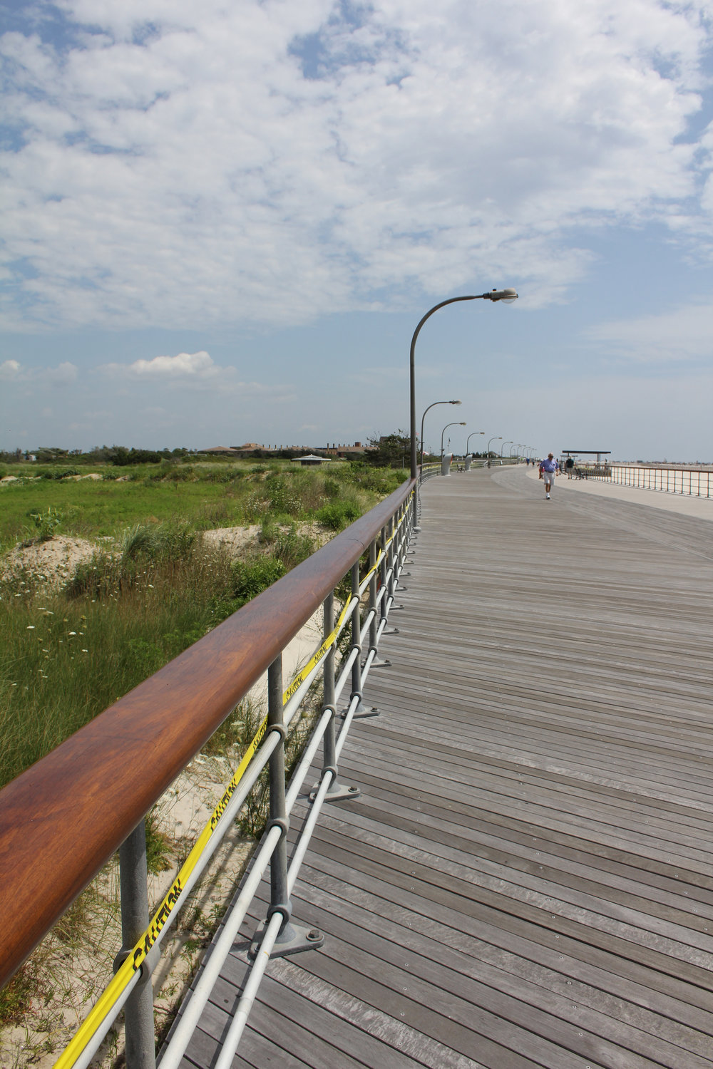 THE JOnes beach shared-use bike path has already given locals and tourists the ability to travel to and from the Jones Beach Boardwalk by bike or foot.