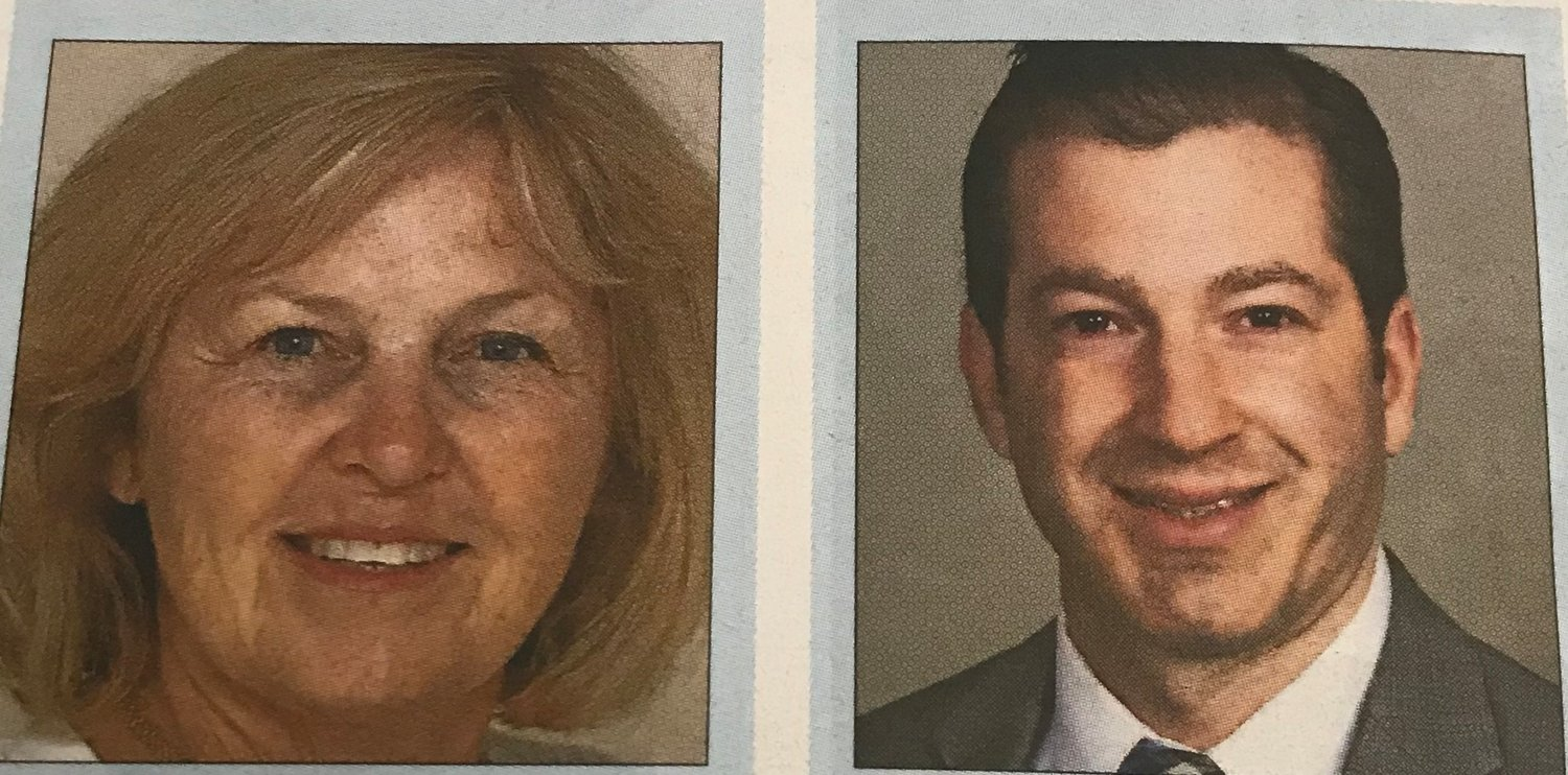 Denise Ford, left, and Jeffrey Saxon will vie in Nassau County Legislative District 4