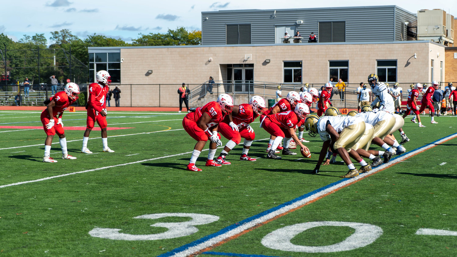 The Freeport High School football team defeated Baldwin 54-13 during their homecoming celebrations on Oct. 12.