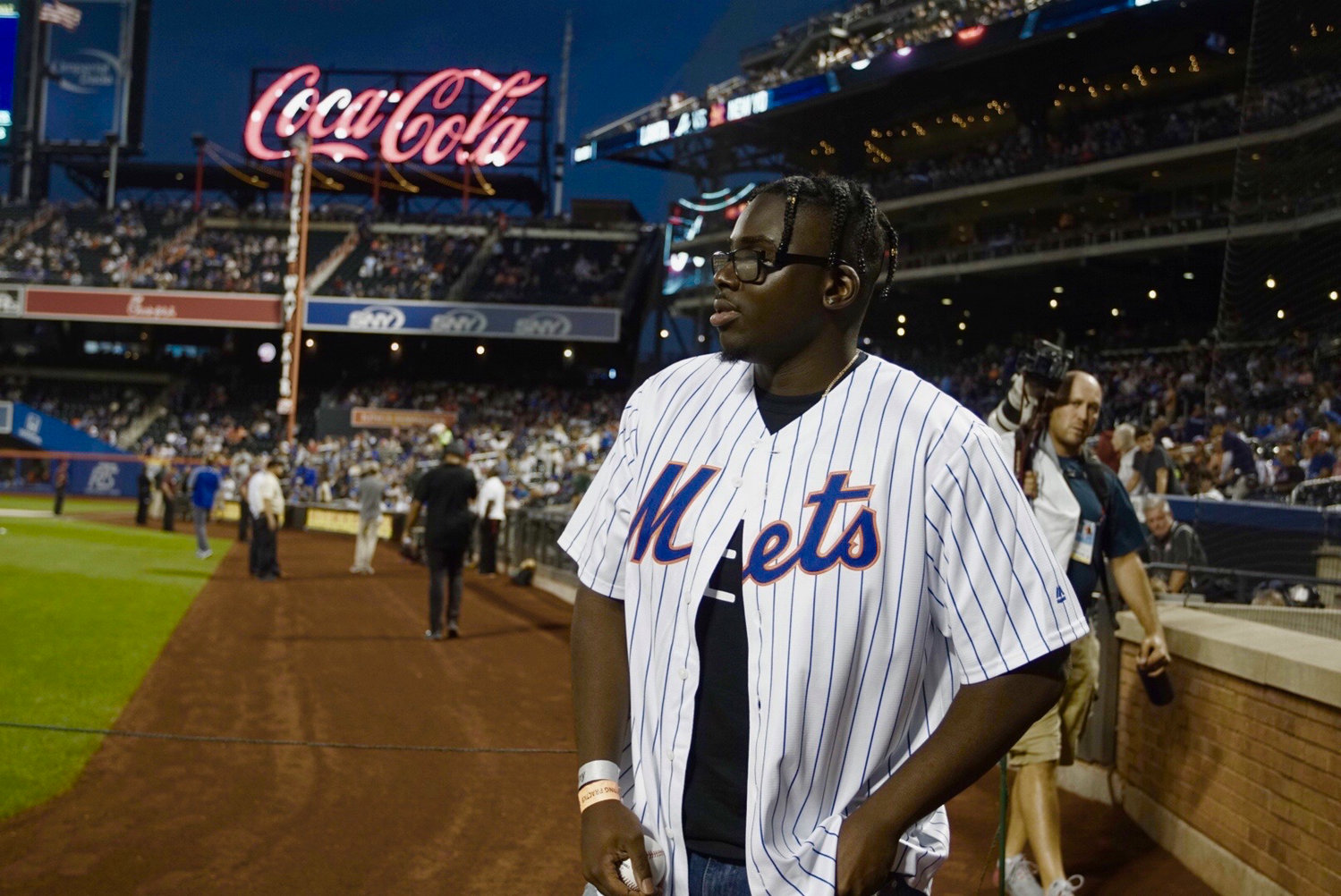 "Baldwin High School alumnus Yaw Sintim-Misa, known by his stage name Blackway, threw the honorary first pitch at the New York Mets game on Sept. 28. His song ""What's Up Danger"" received a Gold certification the day prior."