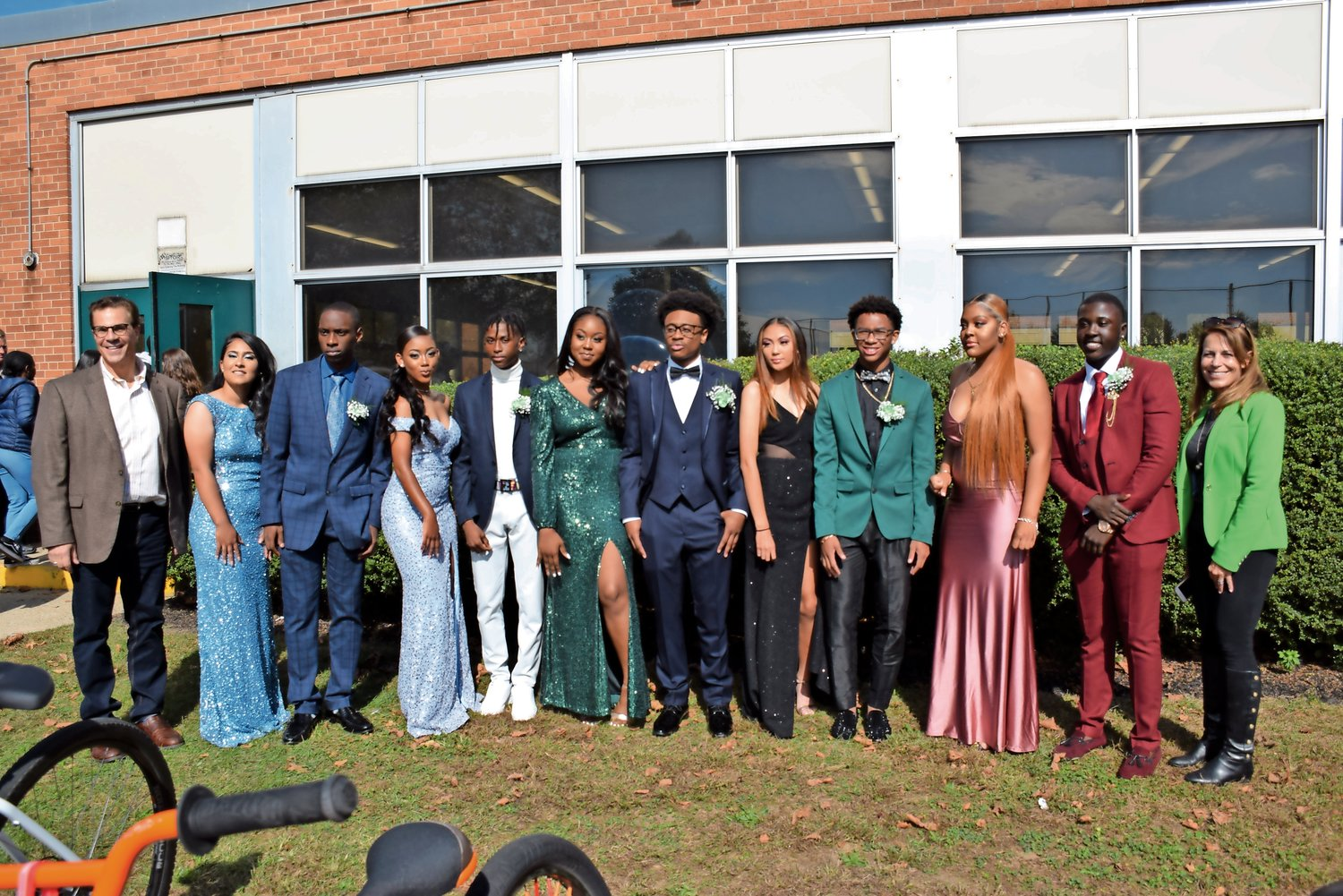 The Elmont Homecoming court.