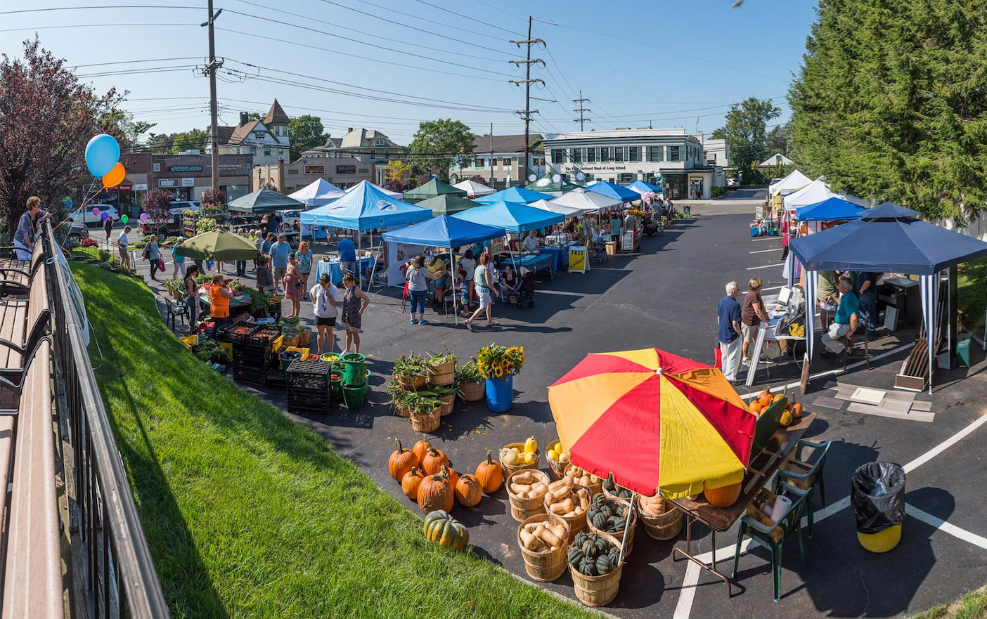 Fall Fest is a great chance for residents to sample local businesses