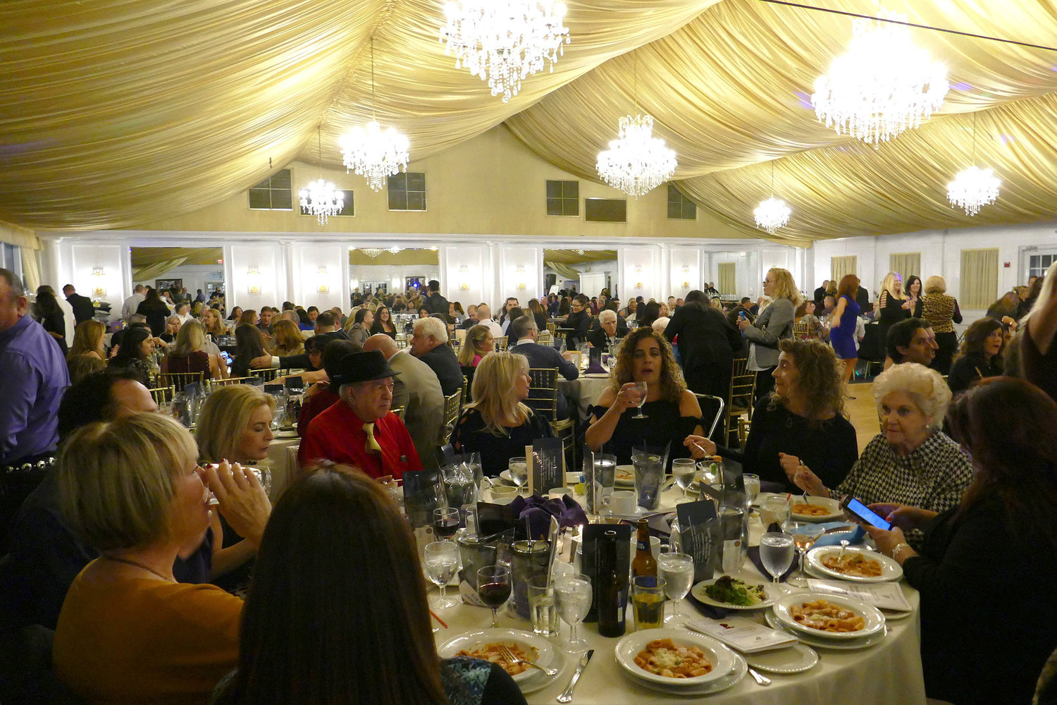 Hundreds of people attended the ninth annual fundraiser benefitting St. Jude Children's Hospital at the Bridgeview Yacht Club on Oct. 20.