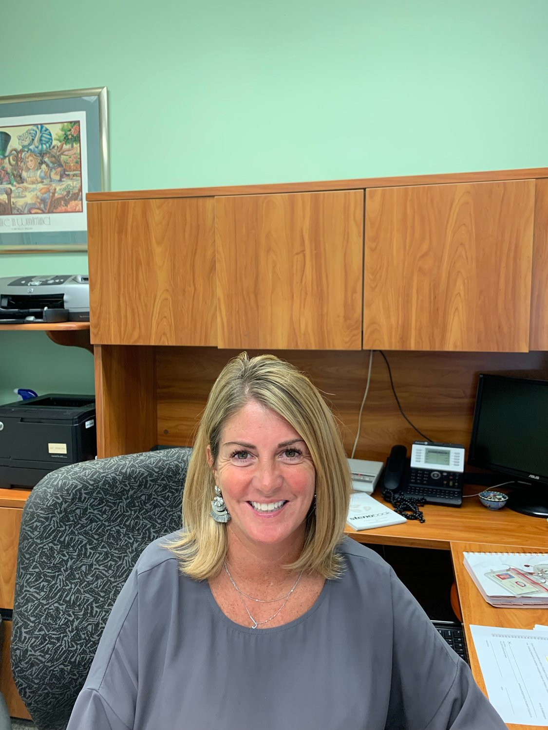 Jennifer Pascarella, longtime assistant principal at South Side Middle School, is the acting principal at Watson Elementary School.