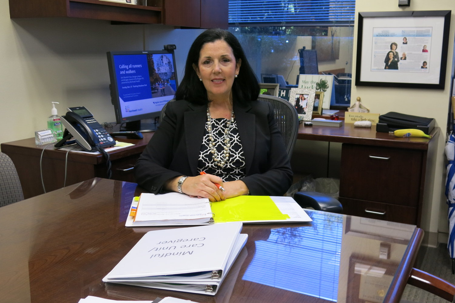 Kerri Anne Scanlon, Glen Cove Hospital's new executive director, will start work on Nov. 4.