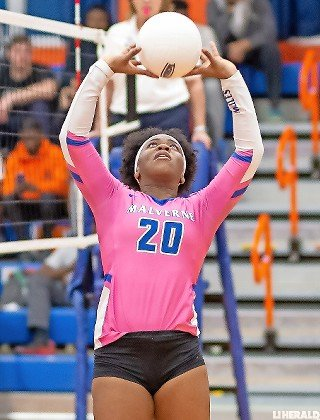 Nicollette Conserve dished out 10 assists Oct. 30 as the Lady Mules clinched their first-ever conference championship with a sweep of Freeport.