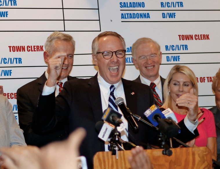 Donald Clavin was officially declared the next Town of Hempstead supervisor on Thursday after incumbent Laura Gillen conceded in the supervisor's race.