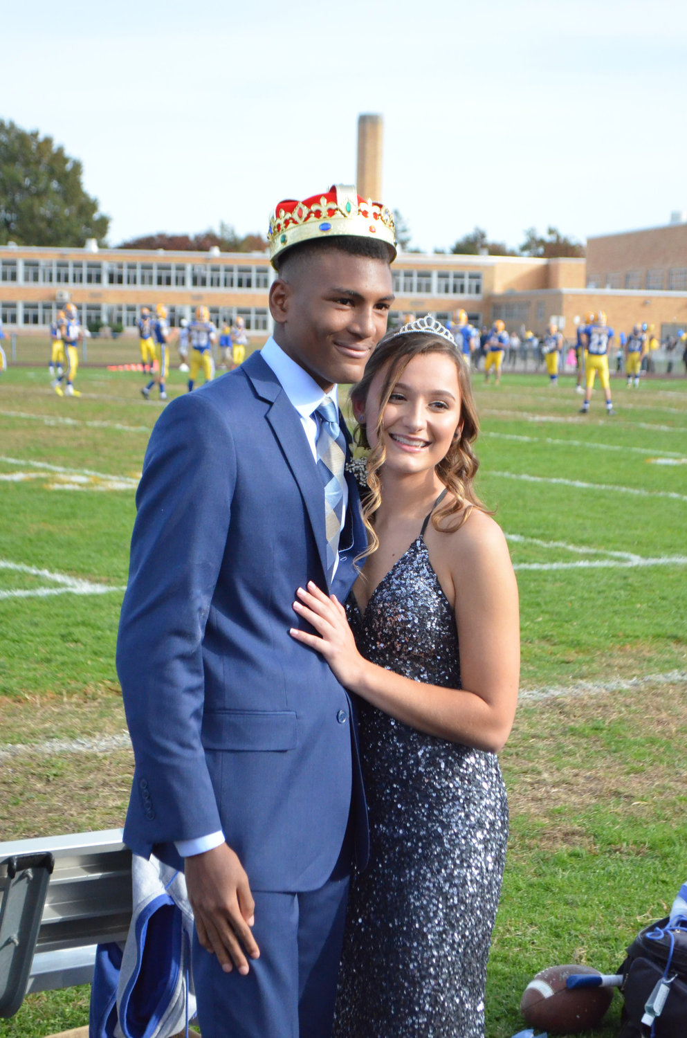 Chris Wade and Jenna Balsamo were crowned Homecoming king and queen.