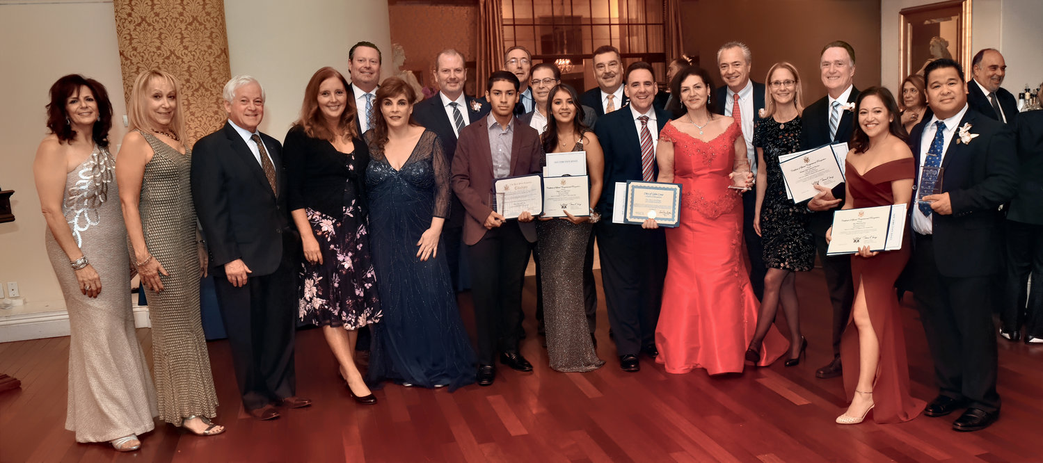 Glen Cove Chamber of Commerce board members, honorees and local elected officials gathered for the chamber's annual gala on Nov. 2.