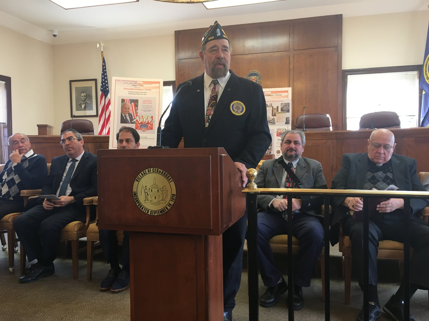 Post 339 commander and Vietnam War veteran Syd Mandelbaum said that it is important to never forget the sacrifices veterans have made.