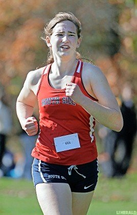 South Side's Carly Woelfel captured the Nassau Class II championship race Nov. 2 with a time of 19:14.33.