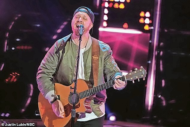 "Jonathan Rizzo, 34, of Oceanside, performed on the NBC show ""The Voice."" The episode aired in September."
