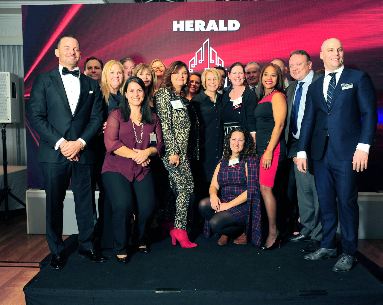The Real Estate Achievement and Leadership Awards Gala, hosted by RichnerLIVE and Herald Community Newspapers, recognized nearly 50 of the highest-performing real estate professionals at the Carltun in Eisenhower Park on Nov. 19.
