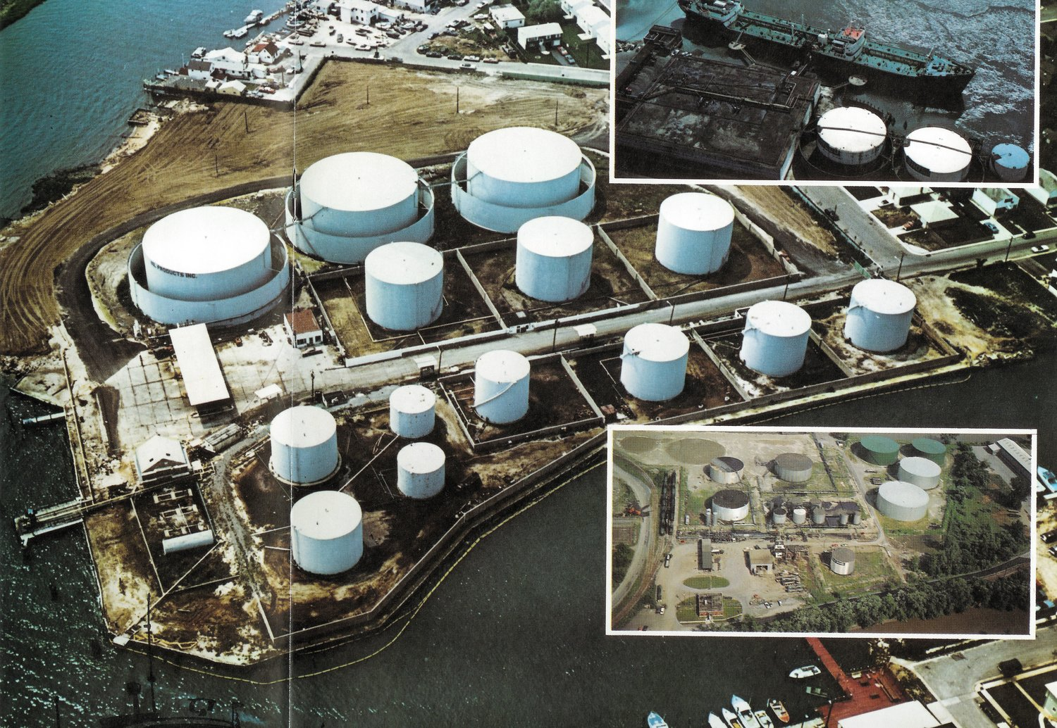 The Harbor Isle site was contaminated by the Cibro petroleum-storage facility.