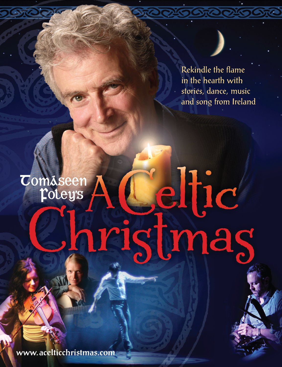 "Irish storyteller Tomáseen Foley appears in ""A Celtic Christmas"" at the Madison Theatre on Dec. 1."