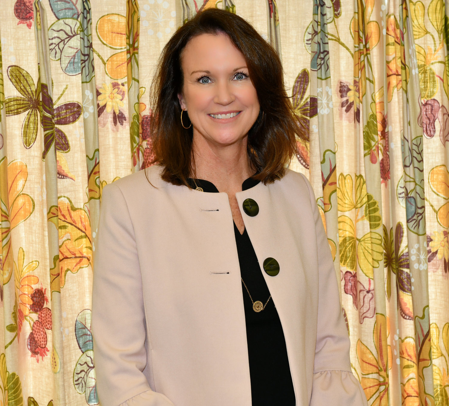 Christine Rice has settled into her new job as executive director of the Glen Cove Senior Center.