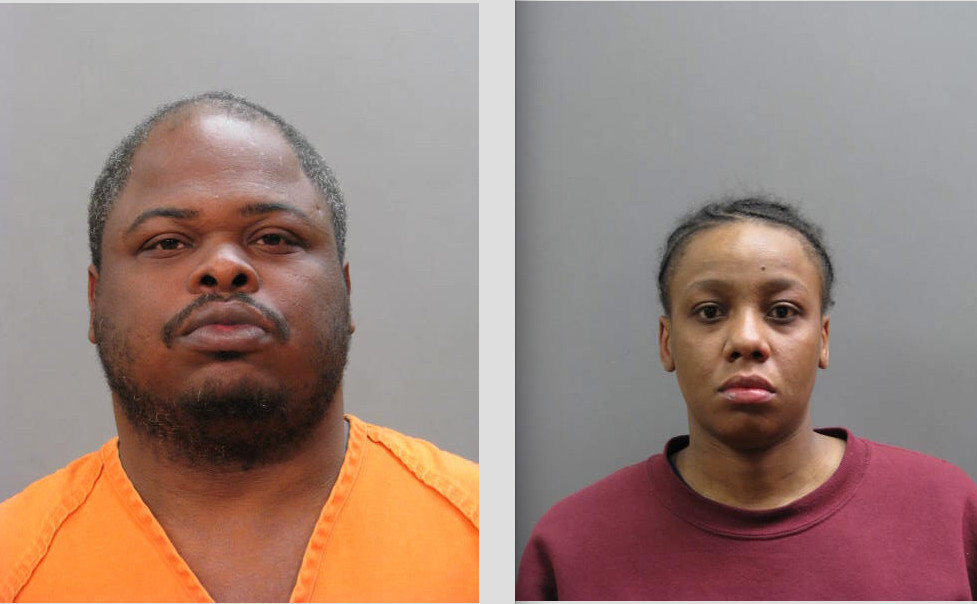 Rahmel Watkins, left, was sentenced to 18 years in prison and Zakiyyah Steward, was sentenced to 3 to 9 years for their roles in the April 2018 fatal Lawrence crash.