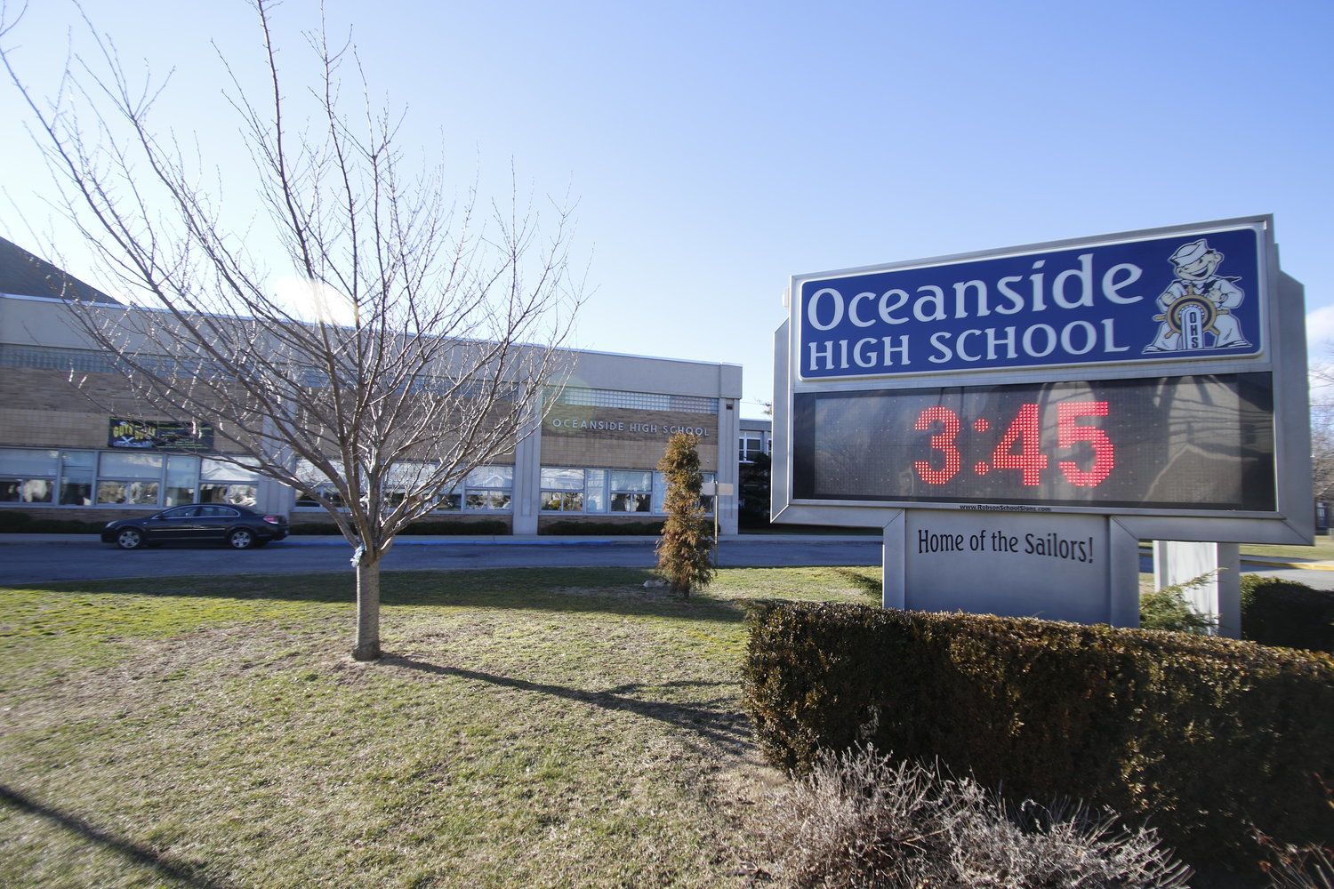 School administrators, elected officials and parents have raised concerns about dangerous intersections near Oceanside High School, and have requested a crossing guard, but the Nassau County Police Department does not station them at high schools.
