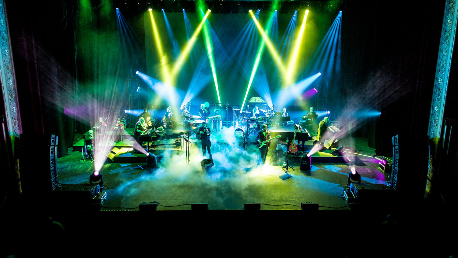 Mannheim Steamroller brings their festive holiday concert to Tilles Center on Dec. 7.