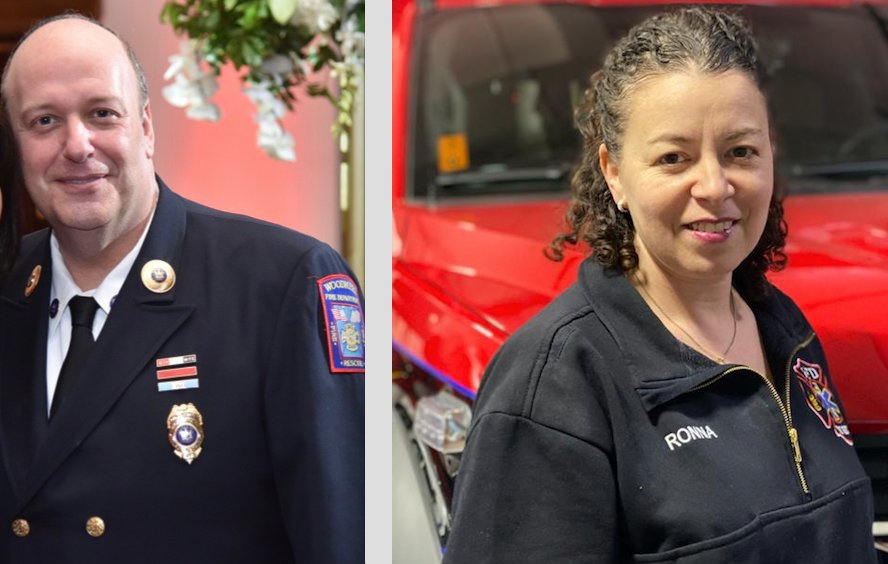 Incumbent Woodmere Fire Commissioner Mitch Froelich is being challenged by fire district secretary Ronna Rubenstein.