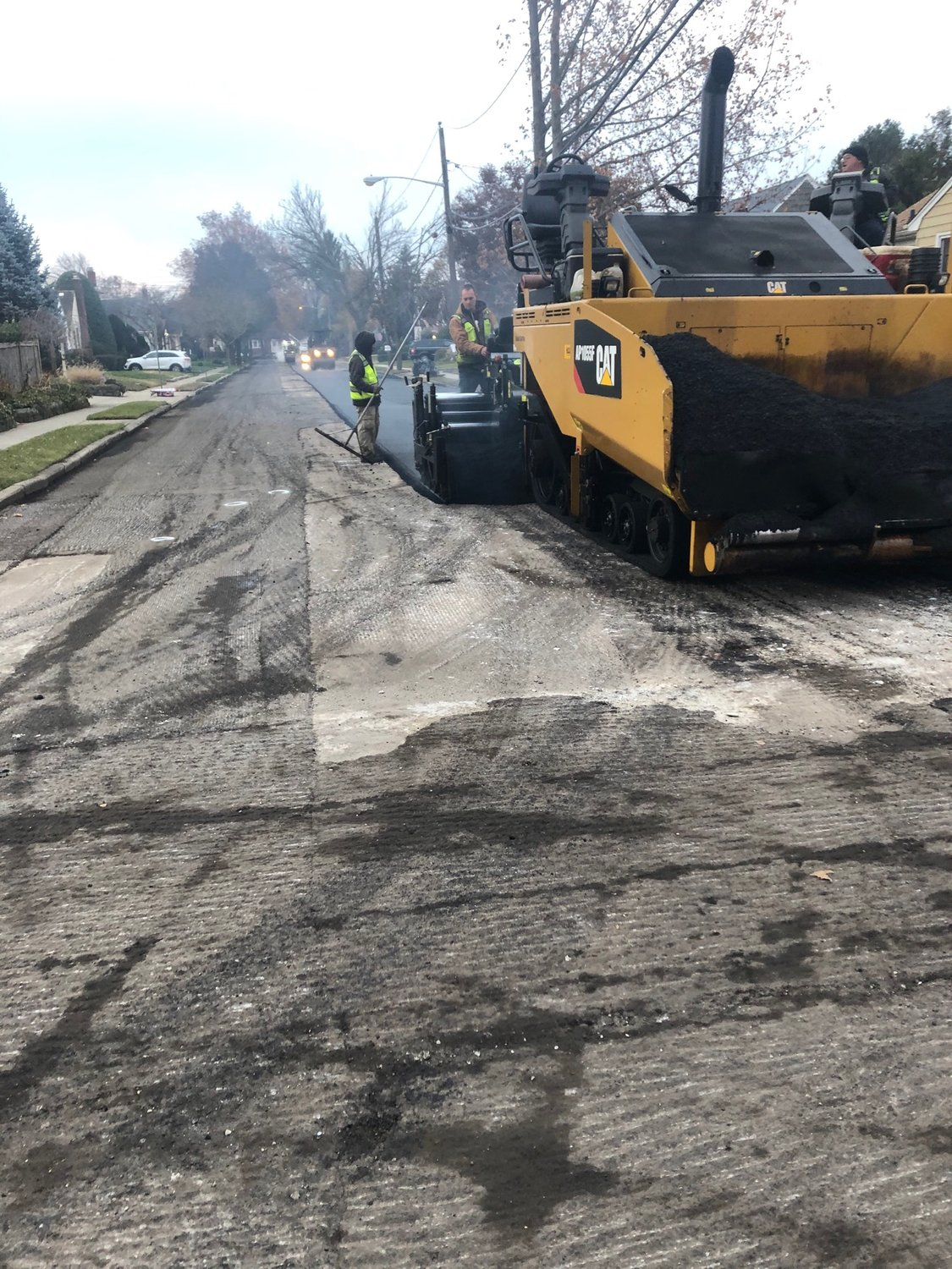 Roughly 43 percent of all the village's roads were repaired in the past seven months. Corbett said that collaboration between the village's Department of Public Works and the utilities have helped the project move forward.