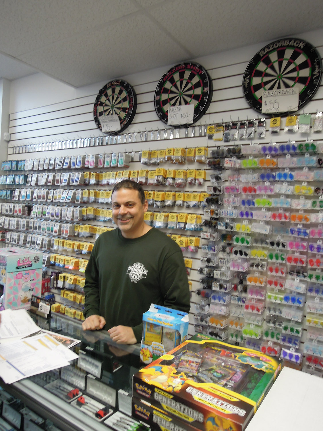 Mike D'Angelo, owner of D'Angelo's Sporting Goods in Wantagh.