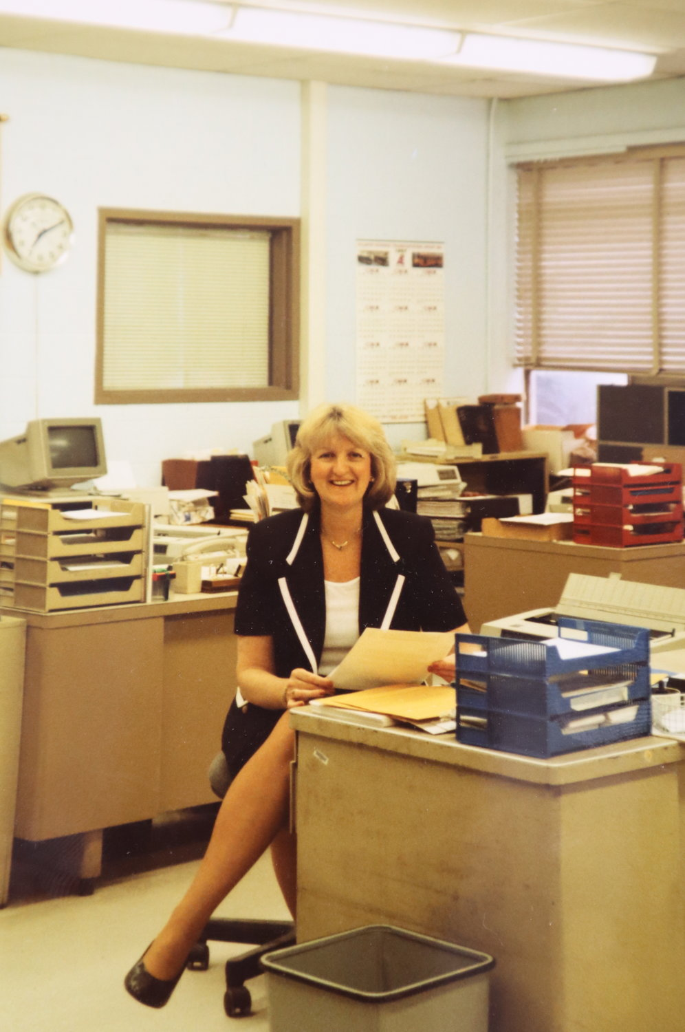 The late Lorraine Poppe was John F. Kennedy High's principal for 23 years.