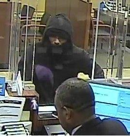 Police are seeking the identity of this man, who reportedly stole an undisclosed amount of money on Monday evening from the Chase Bank on North Central Avenue.