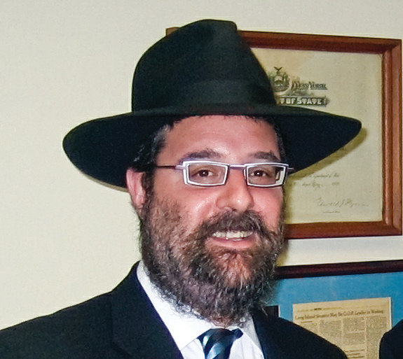 Rabbi Levi Gurkov, of the Chabad of Oceanside, said religions should come together in solidarity to combat hatred and intolerance.