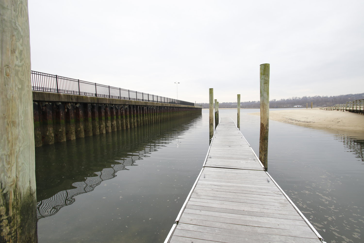 Town of Oyster Bay officials said they hope to prevent pollution of the water at Tappen Beach by septic system failures.
