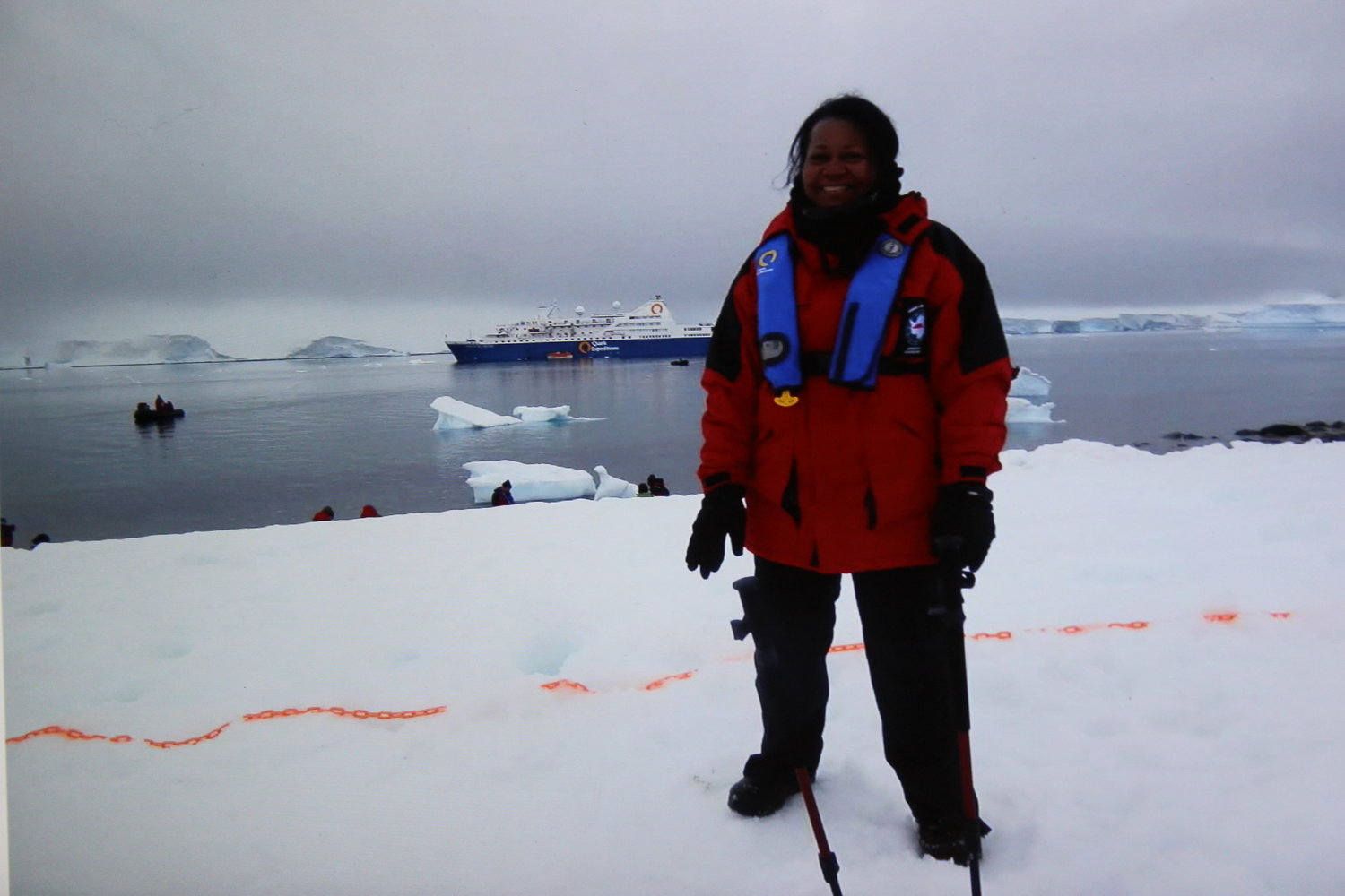 "Yordan, 66, has earned many titles throughout her life, including ""citizen scientist"" after a trip to Antarctica with the polar-exploration company Quark Expeditions."