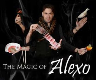 Explore the magical world of illusion with Alexo on Jan. 12.