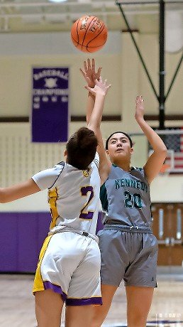 Junior Cameron Montalbano hit for 16 points in Kennedy's first loss of the season after nine straight wins, a 63-50 setback at Sewanhaka on Jan. 8.
