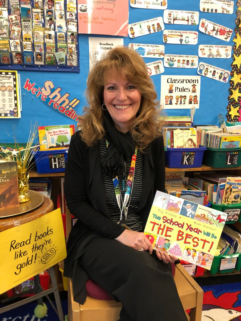 Cornwell Avenue Elementary School third-grade teacher Desiree Karroll was one of 97 teachers in the state to earn national certification from the National Board for Professional Teaching Standards.