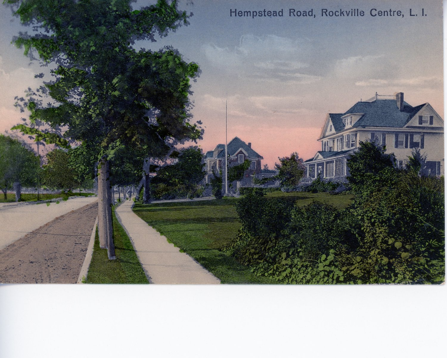 A postcard of Hempstead Road, circa 1890.